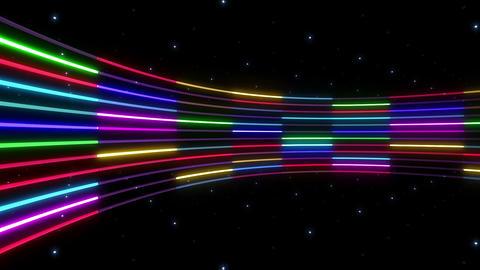 Neon tube R c C 2 HD CG動画