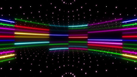 Neon tube R c D 2 HD CG動画