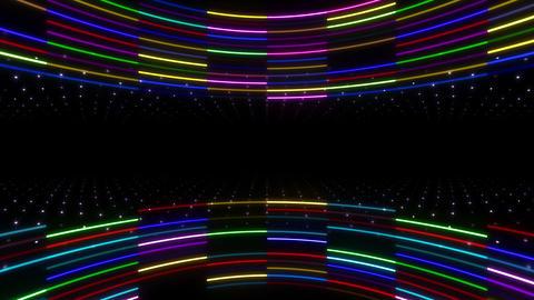 Neon tube R c E 2 HD Stock Video Footage