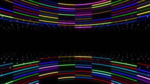 Neon tube R c E 2 HD CG動画