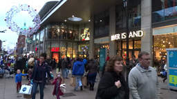 Christmas Shopping Stock Video Footage