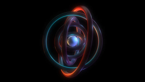 orbit torus rings with alpha Animation