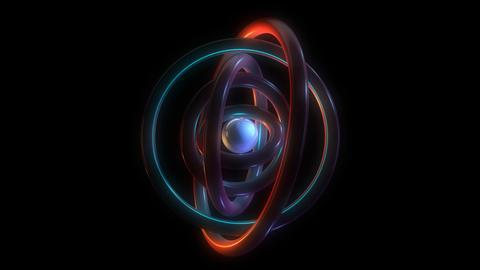 orbit torus rings with alpha Animation