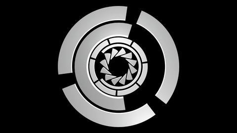 spinning reactor matte Stock Video Footage