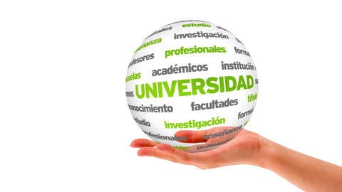 University word sphere (In Spanish) Animation