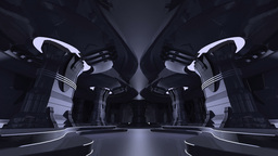 宇宙船内 Stock Video Footage
