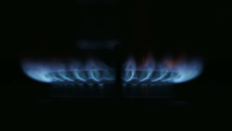Gas Hob Flame Footage