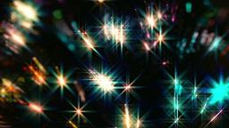 Close up multi color fiber optic Christmas Tree Li Stock Video Footage