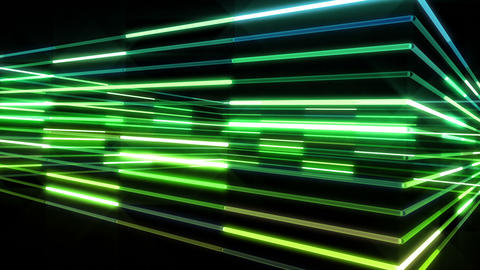 Neon tube R b A 4 HD Stock Video Footage
