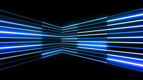 Neon tube R b B 4 HD Stock Video Footage