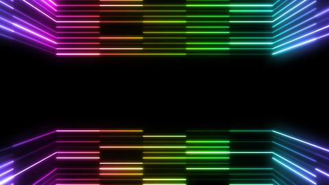 Neon tube R b E 4 HD Stock Video Footage