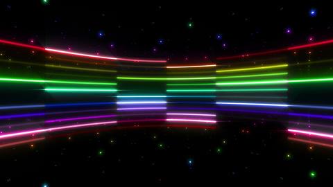 Neon tube R c B 4 HD CG動画