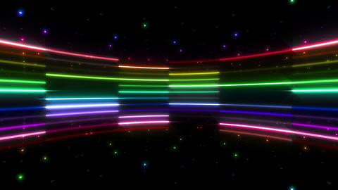 Neon tube R c B 4 HD Stock Video Footage