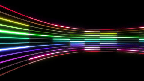 Neon tube R c C 4 HD Stock Video Footage