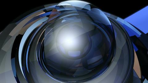futuristic magic ball Animation