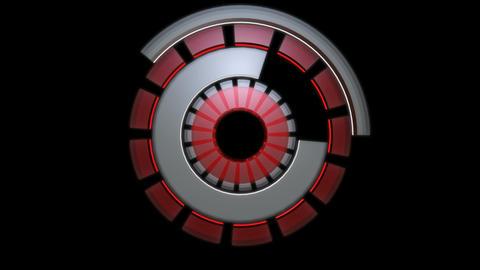 energetic reactor spin Stock Video Footage
