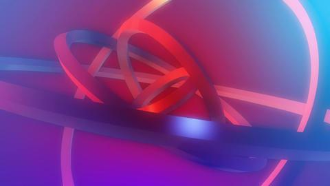 softlight rings orbit Stock Video Footage