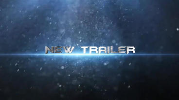 Cinematic Trailer 3 After Effects Template