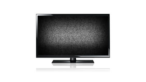 Flat Screen TV Stock Video Footage