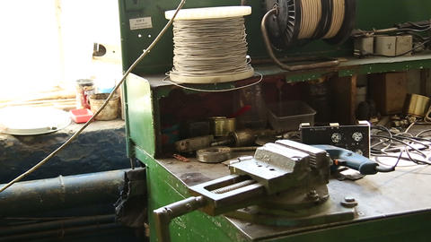 Electric wiring and Board Stock Video Footage