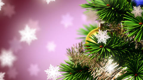 beautiful Christmas background Stock Video Footage