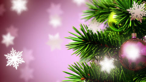 beautiful Christmas background Animation
