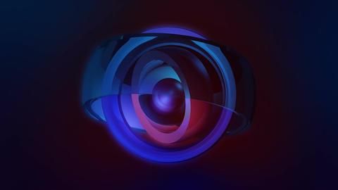 spot glossy ball Animation