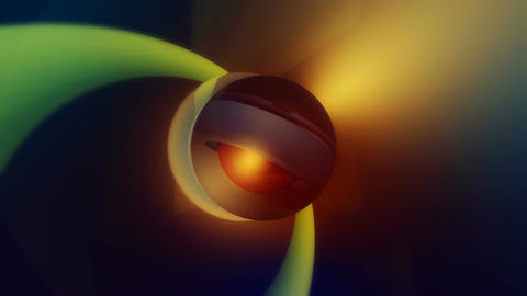 shinning glossy ball Animation