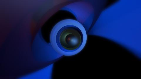 orbital eye ball with alpha Animation
