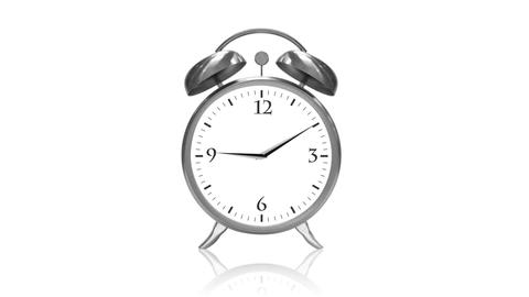 Ringing Alarm Clock Animation