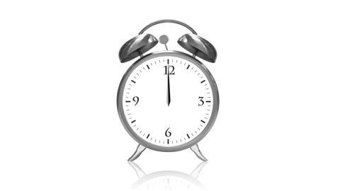 Ringing Alarm Clock Stock Video Footage