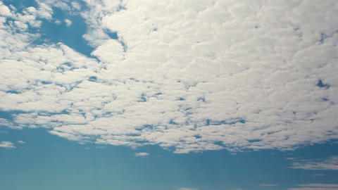 Sunny day clouds timelapse Stock Video Footage