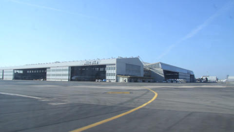 Roma airport – Alitalia Stock Video Footage