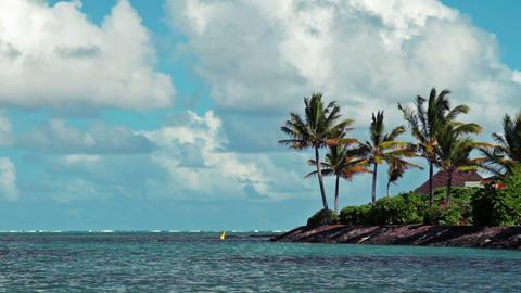 ocean landscape Footage