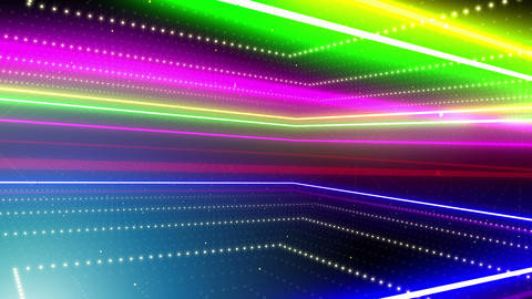 Neon tube R b A 5h HD Stock Video Footage