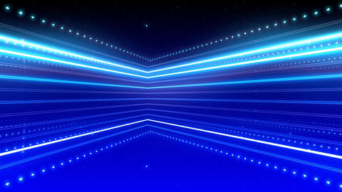 Neon tube R b B 5h HD Stock Video Footage