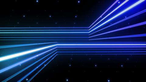 Neon tube R b C 5h HD Stock Video Footage