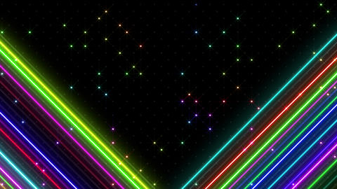 Neon tube R b F 5h HD CG動画