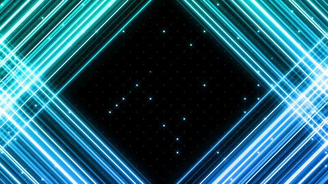 Neon tube R b G 5h HD Stock Video Footage