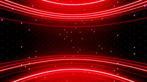 Neon tube R c E 5h HD Stock Video Footage