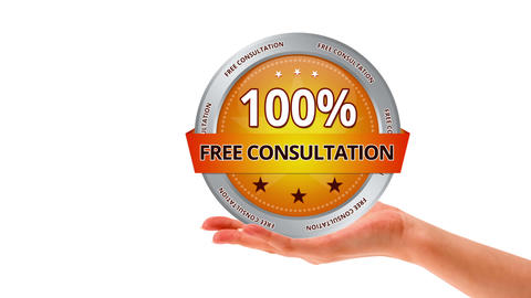 Free Consultation Stock Video Footage