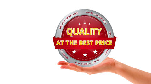 Quality at the best price Stock Video Footage