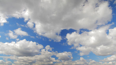 clouds running time lapse Stock Video Footage