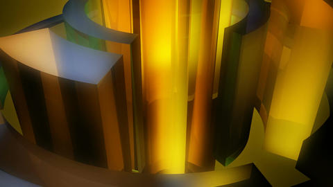 orbital orange reactor Stock Video Footage