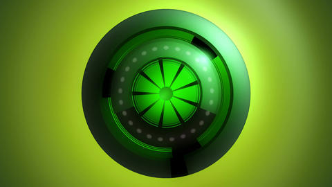 green energy powers Animation