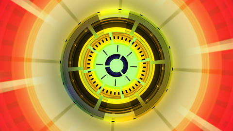 colorful classic compass Stock Video Footage