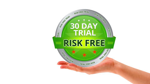 30 Day Trial Stock Video Footage