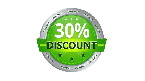 30 percent Discount Stock Video Footage