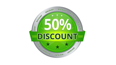 50 percent Discount Stock Video Footage