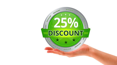 25 percent Discount Stock Video Footage